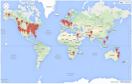 Page Visits - Global
