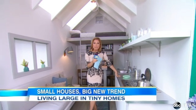 Amazing Abc News Video Inside The Tiny House Movement Sweeping The Nation Largest Home Design Picture Inspirations Pitcheantrous