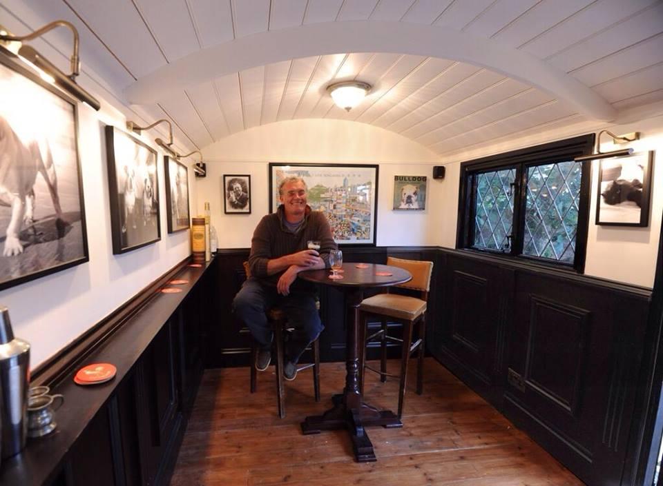20141206sa Shepherds Hut Wagon Retreat Tiny House Interior
