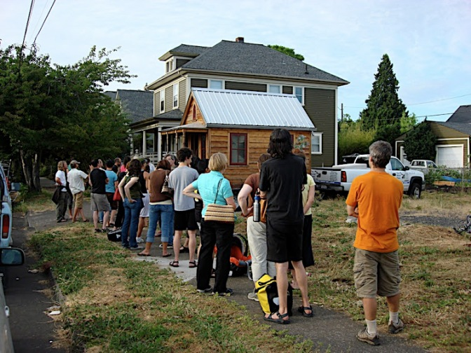 Tiny House Talk at Prairiewoods on 14 June 2016