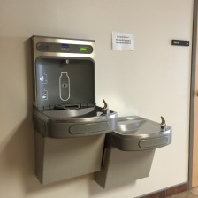 Filtered Water Refill Station
