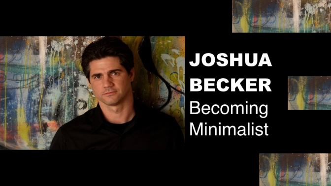 "EVENT: Joshua Becker – ""Becoming Minimalist"" – 9 March 2017"