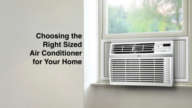 Determining the Right Size BTU or Ton Air Conditioner Required Per Square Feet of Space