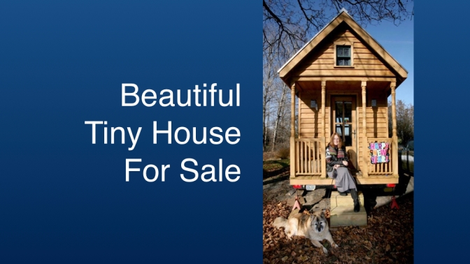 FOR SALE: Mobile Hermitage Tiny House